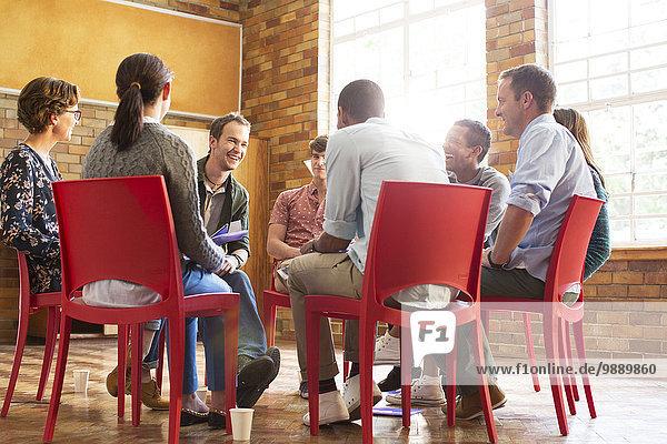Gespräche in der Gruppentherapie