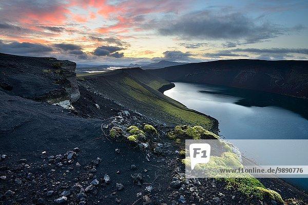 Veidivotn-See  Hochland von Island