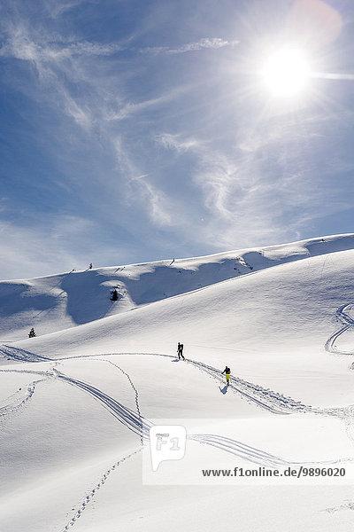 Deutschland  Bayern  Bolsterlang  Skitouren Deutschland, Bayern, Bolsterlang, Skitouren