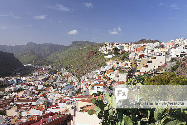 Ortsansicht  San Sebastian  La Gomera  Kanarische Inseln  Spanien  Europa