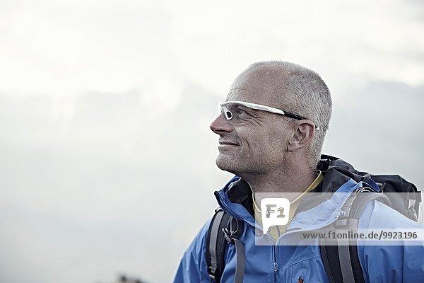 Mature man wearing sunglasses  portrait