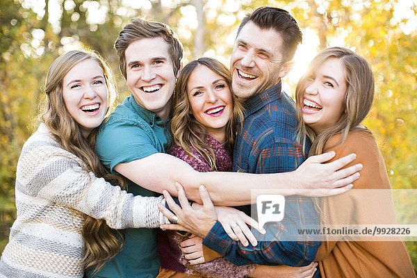 Portrait Freundschaft 5 lächeln