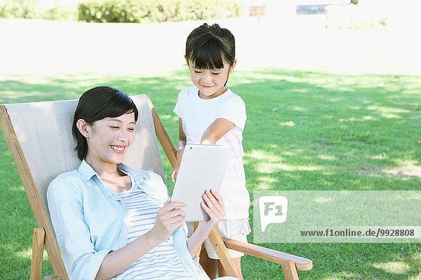 Großstadt Tochter Mutter - Mensch japanisch