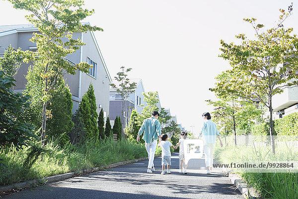 Fröhlichkeit Großstadt japanisch