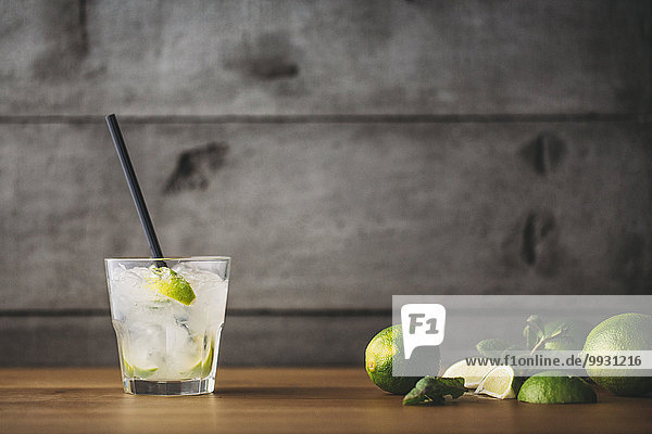 Cocktail Limette Minze Mojito