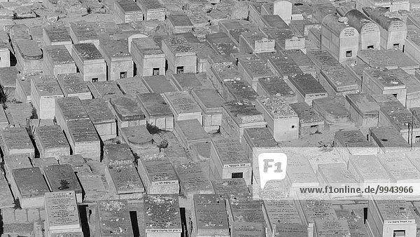 Jüdischer Friedhof am Ölberg  Altstadt  Jerusalem  Israel  Asien