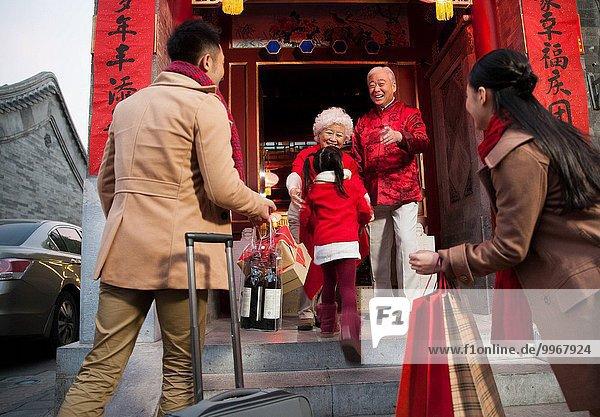 Ostasien Neujahrstag