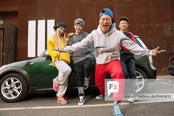 Hip hop Rap Mensch Lifestyle Menschen jung breakdance