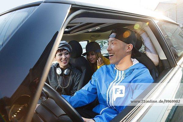 Hip hop Rap Mensch Lifestyle Menschen Auto fahren jung