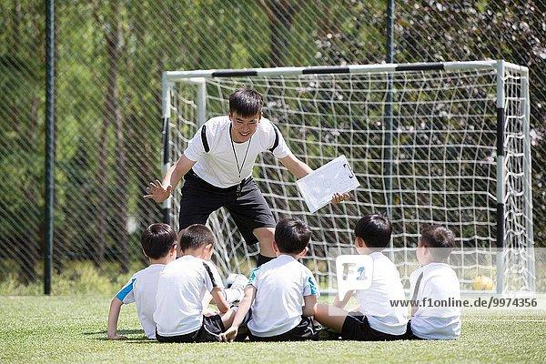 Stärke Junge - Person Feld Football