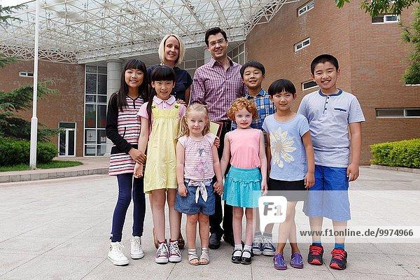 Lehrer, Schule (Einrichtung), Student, Globalisierung, Anfang