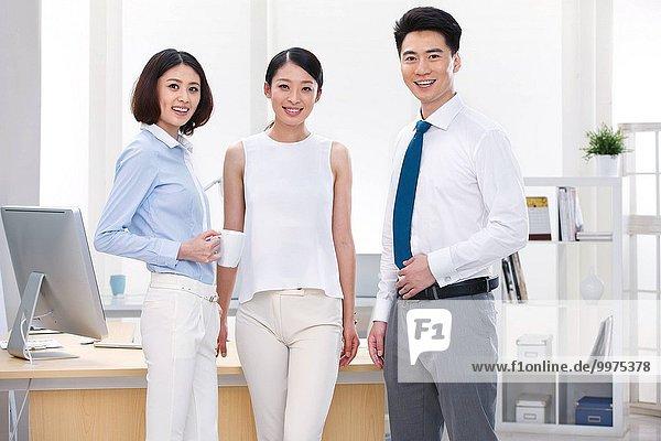 Mensch Büro Menschen jung Business