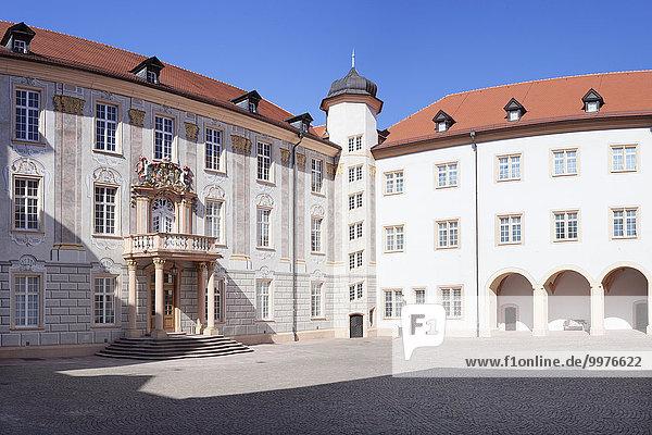 Ettlinger Schloss  Ettlingen  Baden-Württemberg  Deutschland  Europa