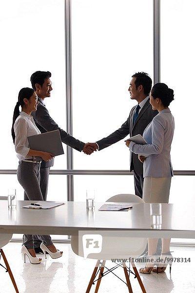 Kooperation Ostasien Business