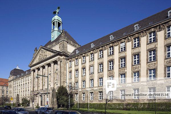 Regierungsgebäude  Sitz der Düsseldorfer Bezirksregierung  Düsseldorf  Rheinland  Nordrhein-Westfalen  Deutschland  Europa
