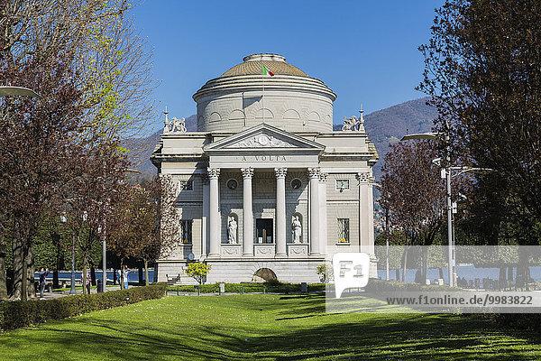 Tempio Voltiano  Como  Lombardei  Italien  Europa
