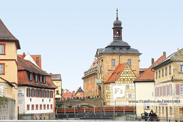 Großstadt Bamberg Bayern Deutschland alt