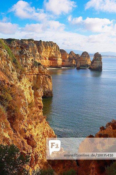 Europa Algarve Lagos Ponta da Piedade Portugal