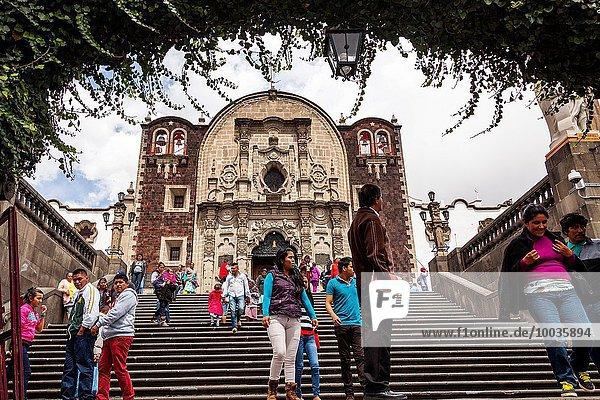 Capilla del Cerrito  Basilica of Our Lady of Guadalupe (Basilica de Nuestra Señora de Guadalupe)  Mexico City  Mexico DF  Mexico