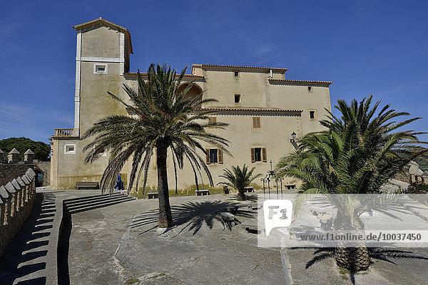 Burg Santuari de Sant Salvador  Artà  Mallorca  Balearen  Spanien  Europa