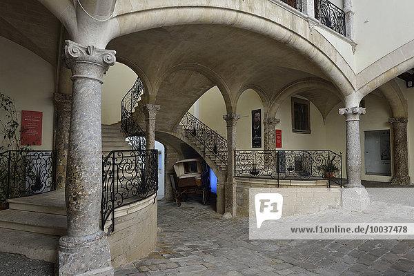 Stadtpalast Casal Solleric  heute ein Museum  Passeig del Born  Palma de Mallorca  Mallorca  Balearen  Spanien  Europa