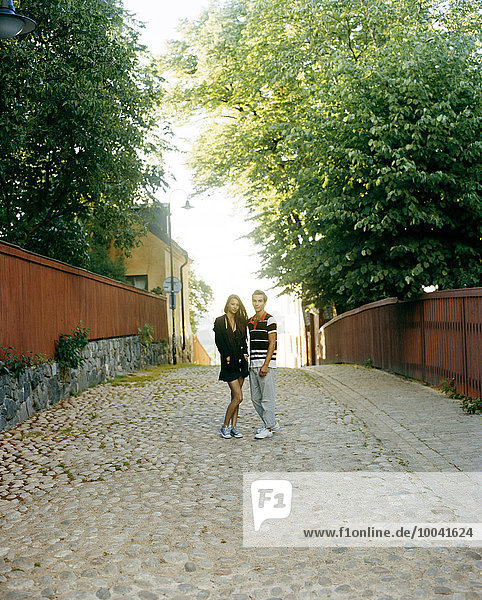 Couple in Gamla Stan  Stockholm