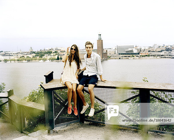 Couple in Stockholm.