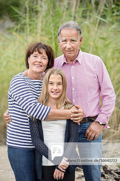 Jugendlicher Menschliche Eltern Tochter