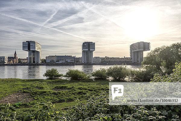 Deutschland  Köln  Kranhäuser am Rhein Deutschland, Köln, Kranhäuser am Rhein