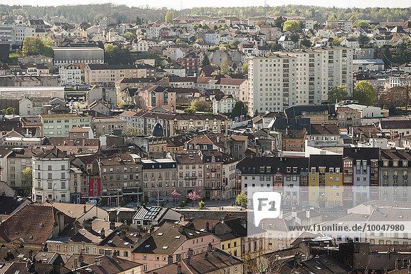 Frankreich  Lothringen  Epinal  Stadtansicht