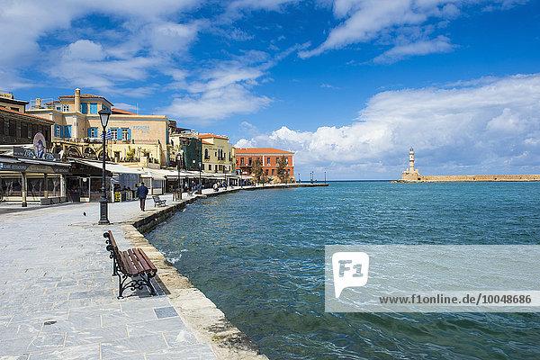 Griechenland  Kreta  Chania  Venezianischer Hafen