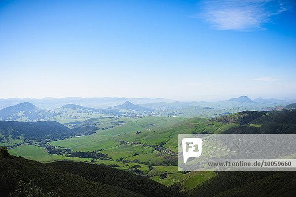 Gebirge  San Luis Obispo  Kalifornien  Vereinigte Staaten von Amerika