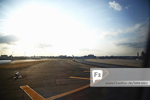 Flughafen Asphalt  Brooklyn  New York  USA