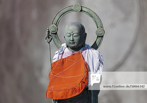 Buddhistisches Symbol  Tokio  Japan