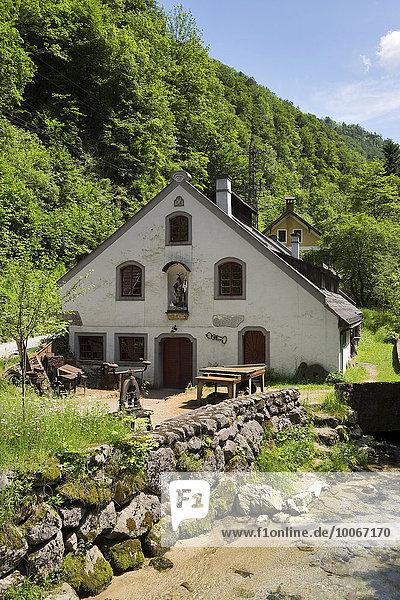 Ehem. Strunz Hammer  Hammerwerk Eybl  Ybbsitz  Eisenwurzen  Mostviertel  Niederösterreich  Österreich  Europa
