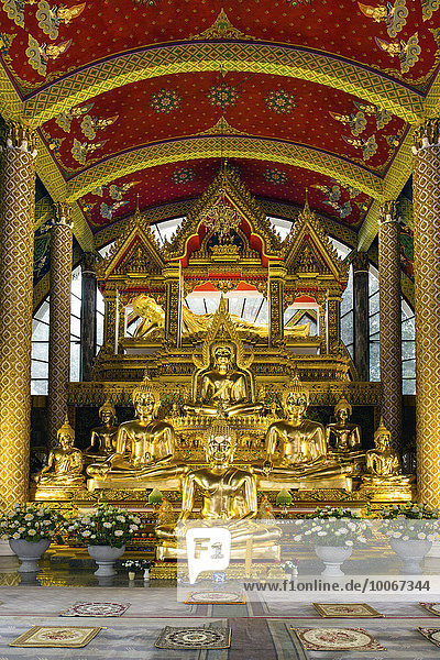Statue Asien Ortsteil Isaan Thailand Ubon Ratchathani