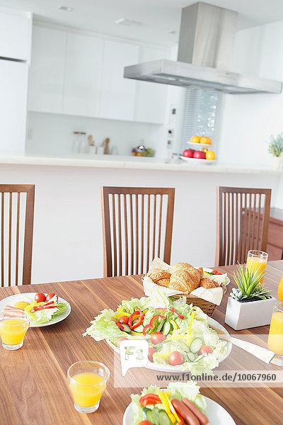 Küche Frühstück