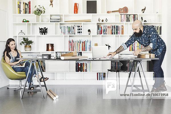 Architekten  die im Home Office arbeiten