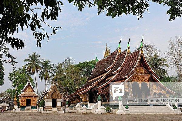 fünfstöckig Buddhismus Südostasien Laos Luang Prabang Tanga