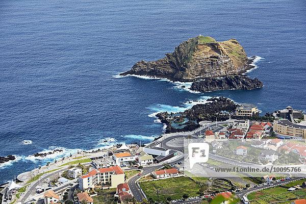 Porto Moniz  Madeira  Portugal  Europa