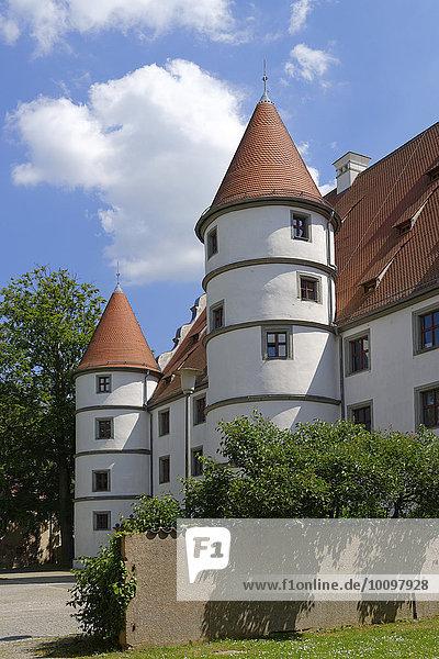 Schloss Friedrichsburg  Vohenstrauß  Oberpfalz  Bayern  Deutschland  Europa