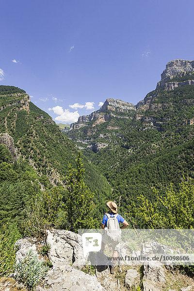 Canón de Aniscio  Ordesa Nationalpark  Provinz Huesca  Spanien  Europa