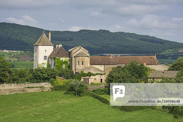 Schloss Chateau des Moines  Berzé-la-Ville  Burgund  Frankreich  Europa