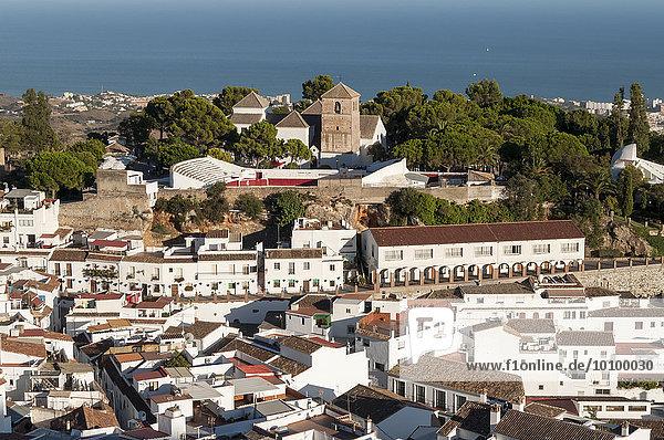 Old White Village of Mijas  Andalusia  Spain  Europe