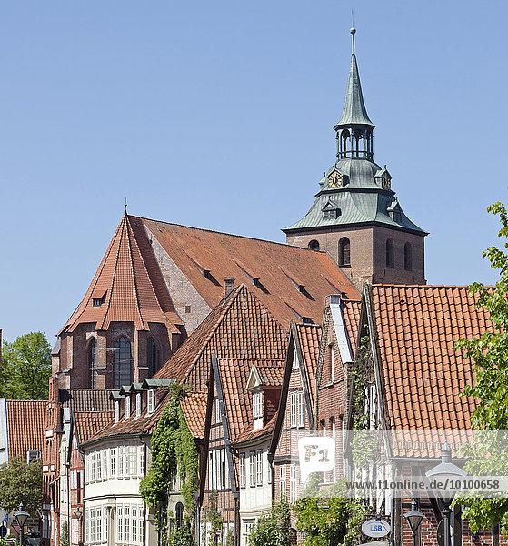 Michaeliskirche  Auf dem Meere  Lüneburg  Niedersachsen  Deutschland  Europa