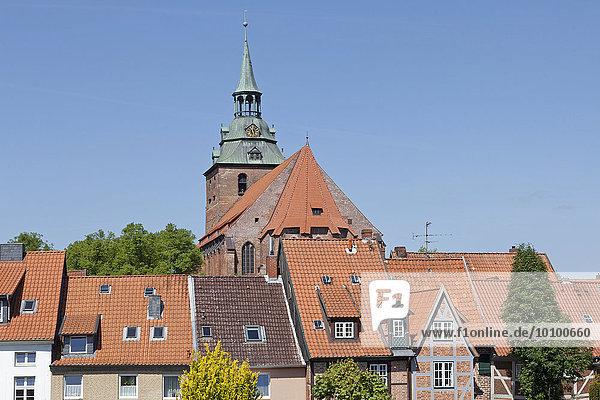 Michaeliskirche  Lüneburg  Niedersachsen  Deutschland  Europa