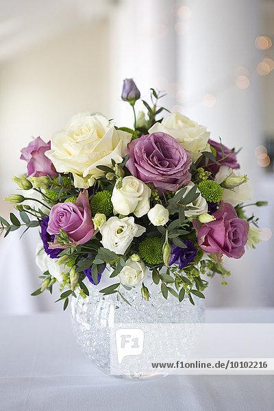 Blume Hochzeit lila pink