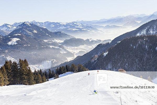 Landschaftlich schön landschaftlich reizvoll Berg Ski Skiurlaub