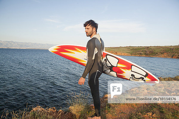 Strand Surfboard Wellenreiten surfen