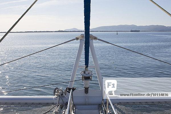 Segeln Boot Takelage